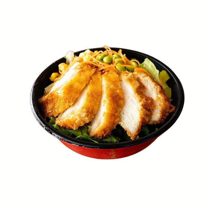 Chicken Katsu Poke Bowl