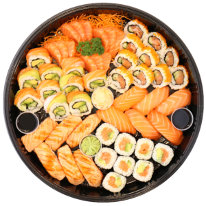 Bosu Sushii - Salmon Lover Platter