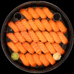 Bosu Sushii - Salmon Nigiri Platter