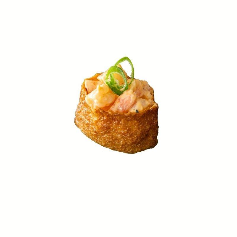Spicy Prawn Inari