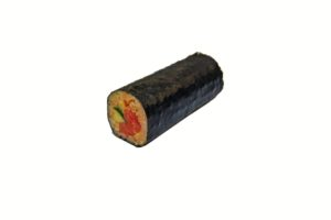 Spicy Salmon Cucumber Handroll