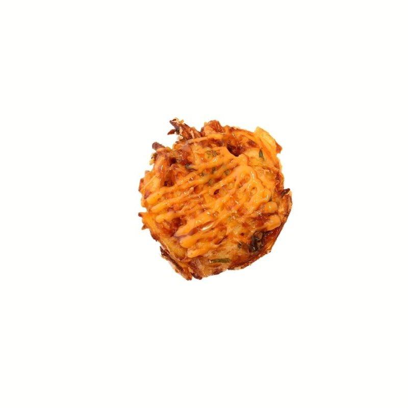 Spicy Tempura Vegatarian Pancake