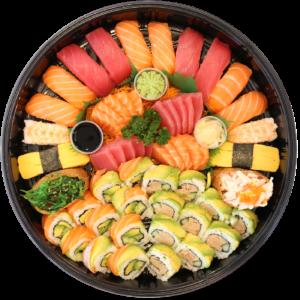 Bosu Sushii - Sushi Sashimi Platter