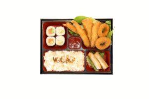Seafood Katsu Bento