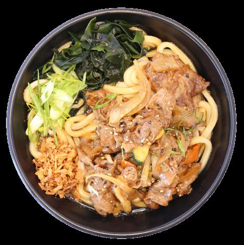 Teriyaki Beef Udon