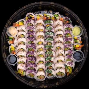 Bosu Sushii Vegetarian Maki Platter