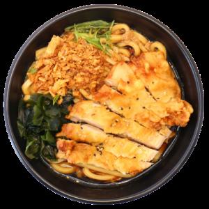 Crispy Chicken Udon