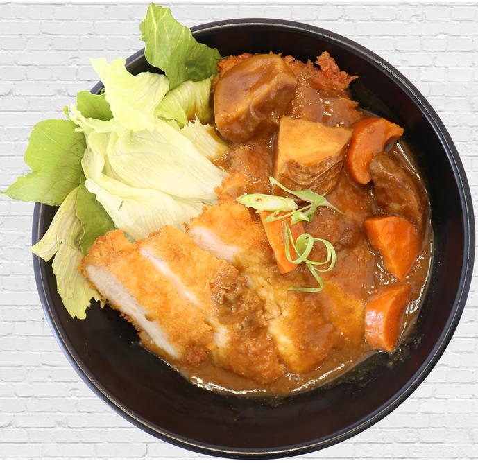 Curry Chicken Katsu Don