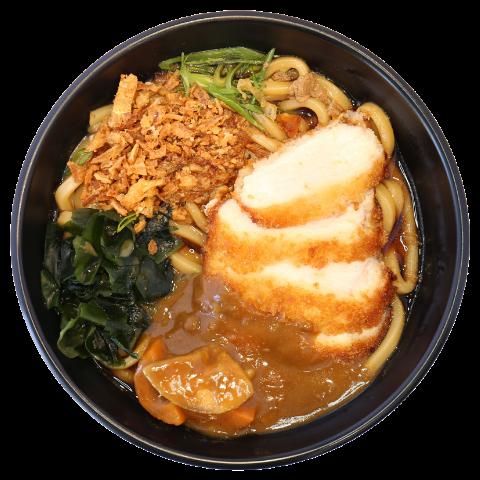 Curry Chicken Katsu Udon