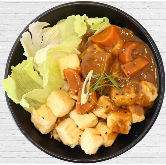 Curry Tofu Don