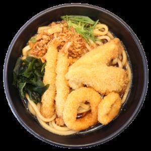Seafood Katsu Udon