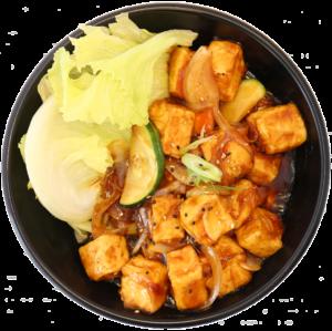Teriyaki Tofu Don